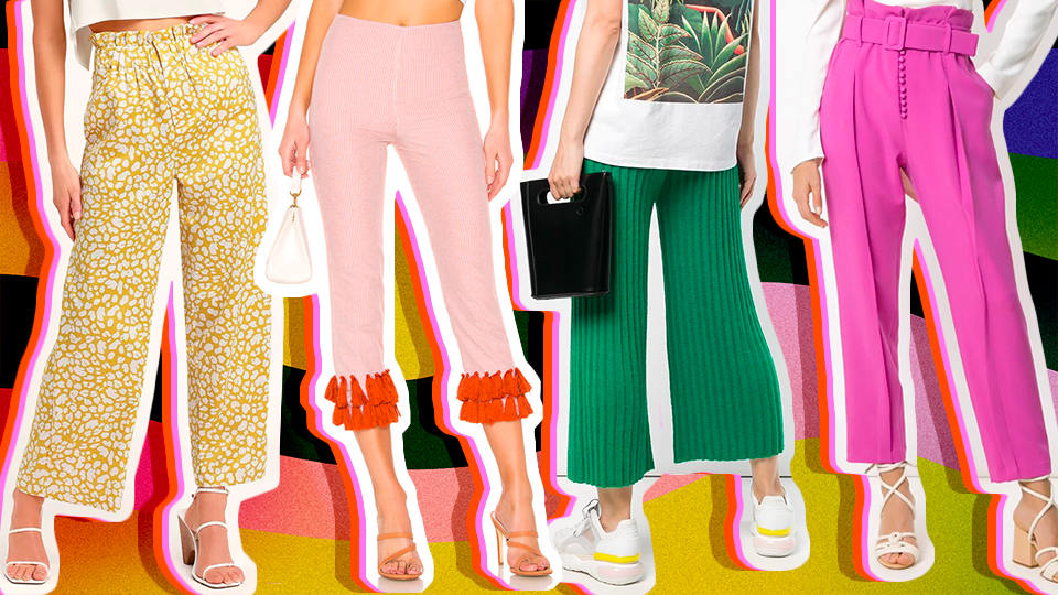 There Are So Many Sweet Deals on Spring Pants Right Now