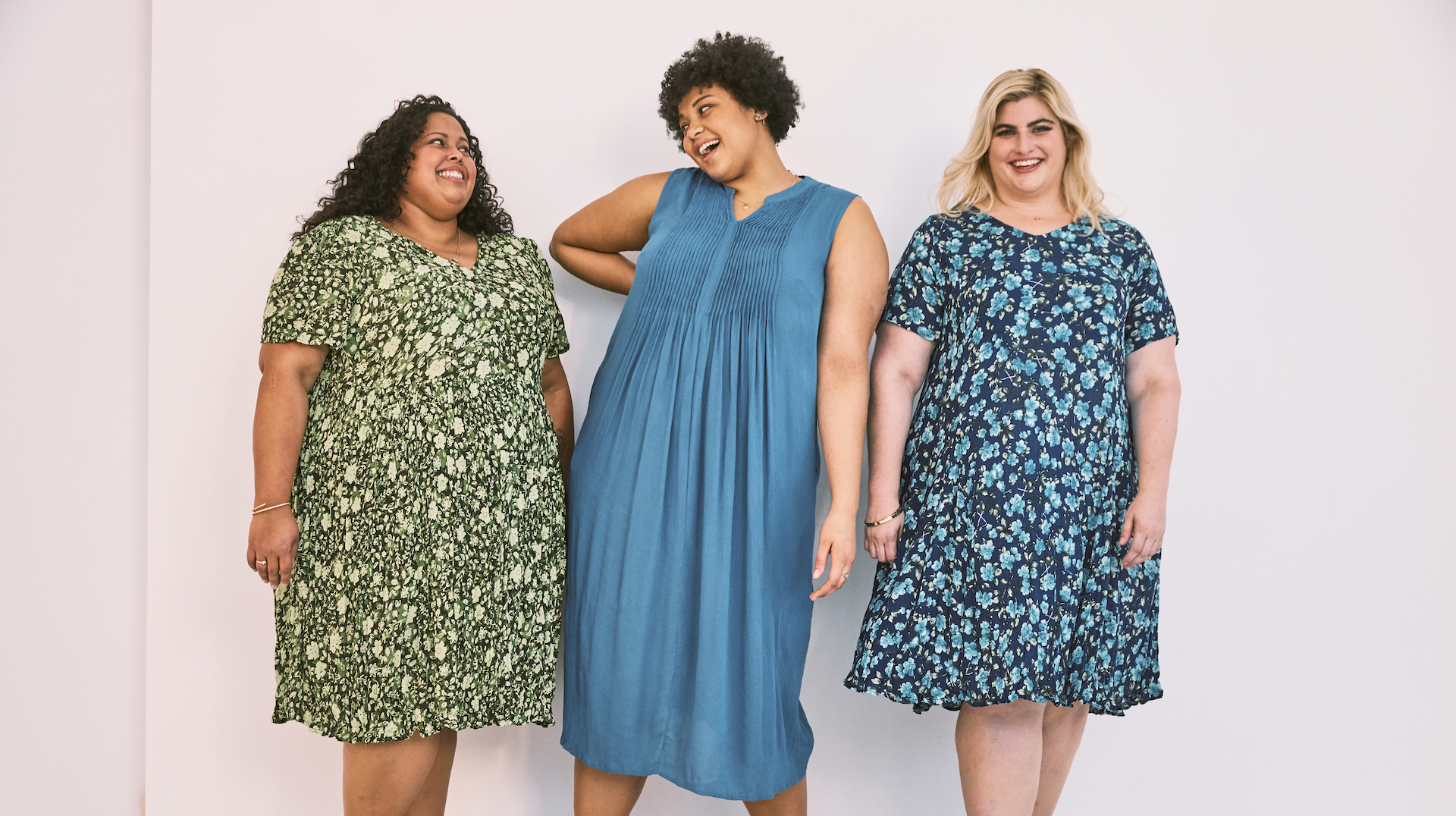 You'll Want to Live In These Comfy Spring Dresses From Plus-Size Brand Woman Within