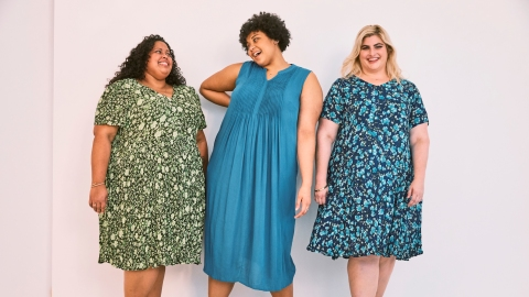 You'll Want to Live In These Comfy Spring Dresses From Plus-Size Brand Woman Within | StyleCaster