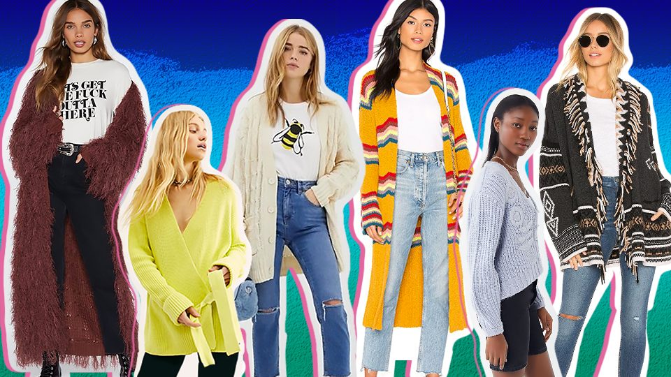 The Spring Cardigans Sales Are So Good We Can't Stop Shopping