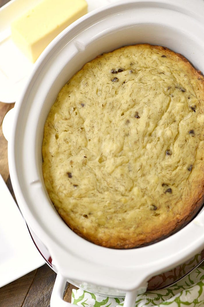 STYLECASTER | 17 Stoner Snacks You Can Actually Whip Up in the Slow-Cooker | Chocolate Chip Banana Bread