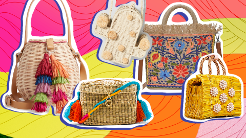 27 of the Most Over-the-Top Straw Bags You Can Shop This Spring | StyleCaster
