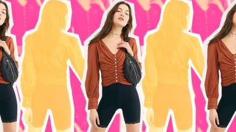 The $78 Free People Blouse I'll Be Dressing Up and Down All Summer Long | StyleCaster