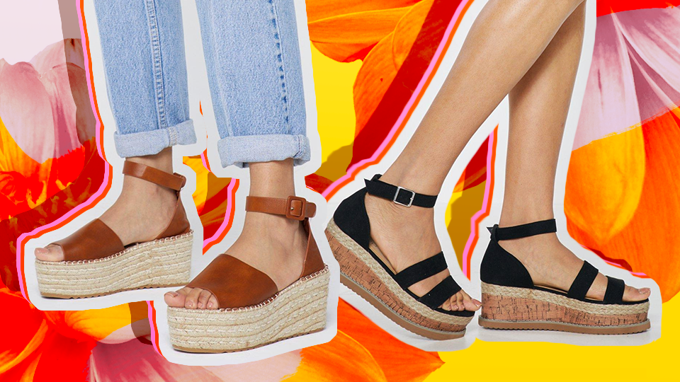 Spring Wedges Are Cute—Spring Wedges on Sale Are Cuter