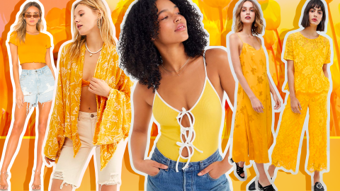 37 Ways to Shop Marigold Yellow, 2019's Favorite Color | StyleCaster