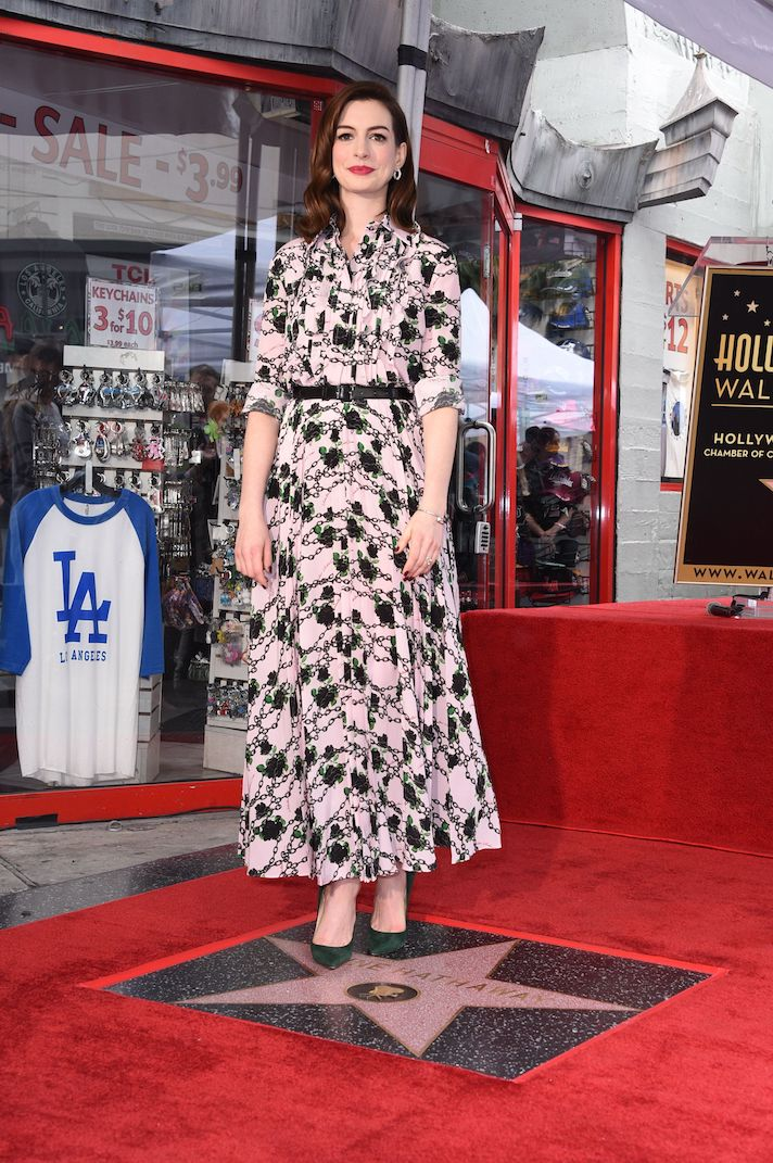 Anne Hathaway Hollywood Walk of Fame