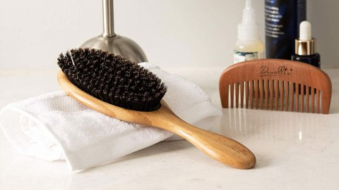 These Budget-Friendly Boar Bristle Brushes Remind us of The Iconic Mason Pearson | StyleCaster