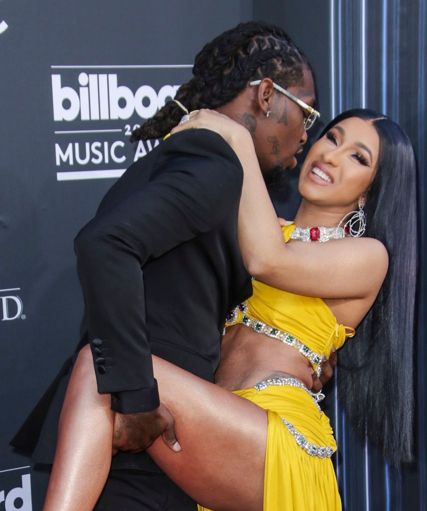 cardi b offset bma 2019 Cardi Bs Nude Wardrobe Malfunction Reaction Is Beyond Iconic