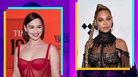 So, Emilia Clarke Met Beyoncé & It Did Not Go Well | StyleCaster