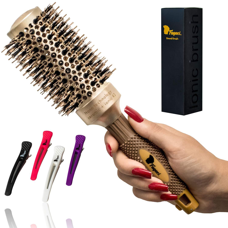 Queste spazzole rotonde sono l'ingrediente chiave per ottenere uno sfogo da salone a casa |  STYLECASTER