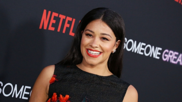 Gina Rodriguez's New Hair Makes Me Want Highlights for Summer