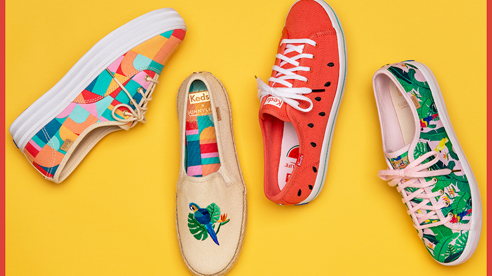 Step Into Summer with the New (and Super Cute) Keds x SunnyLife Sneaker Collab