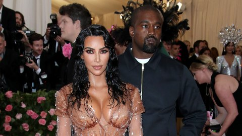 Kim Kardashian & Kanye West Came to the Met Gala Drippin' | StyleCaster