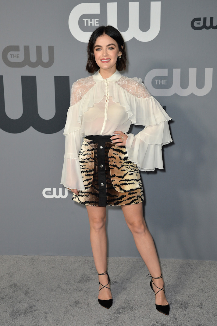 Lucy Hale CW Upfronts 2019