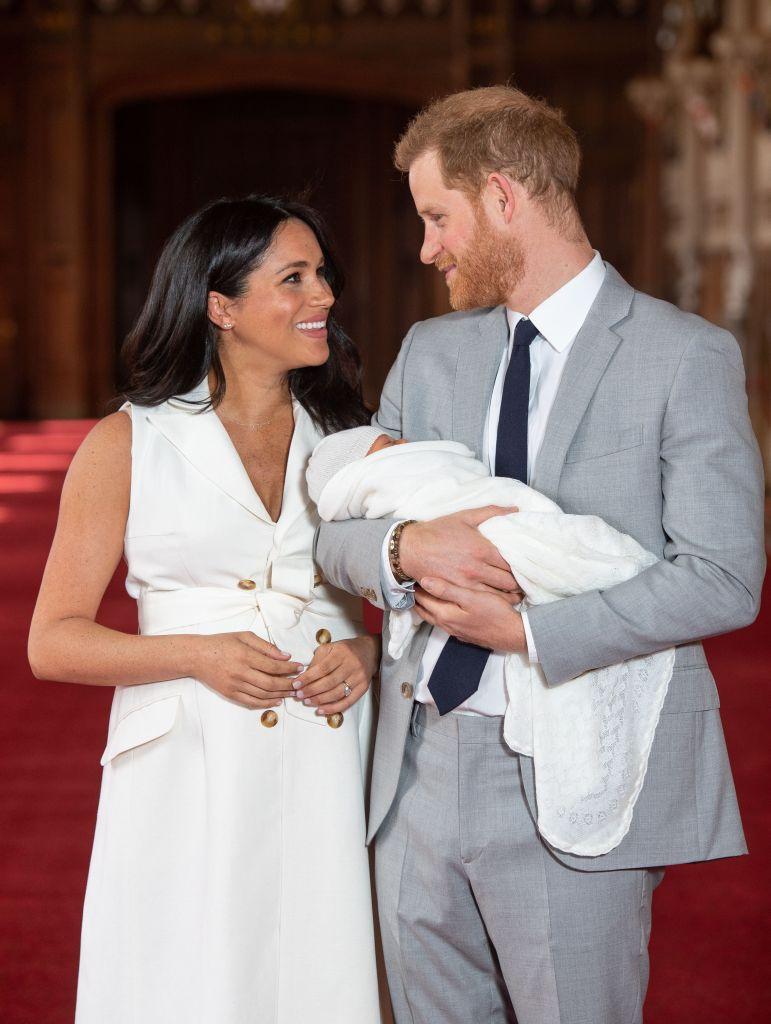 meghan marke prince harry royal baby Prince Harry Revealed How Many Kids He & Meghan Markle Plan To Have—Were Shook