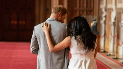 Meghan Markle Had One Simple Way of Comforting Prince Harry Amid Their Final Royal Exit | StyleCaster