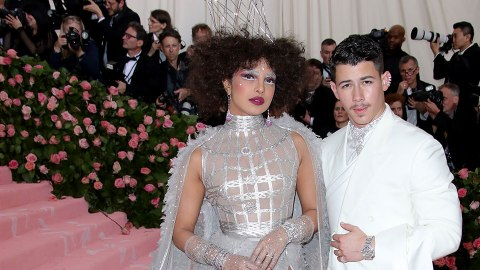 Nick Jonas & Priyanka Chopra Were Wonderfully Whimsical at the Met Gala | StyleCaster