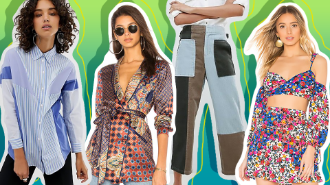 Patchwork Pieces Are the Most Maximalist Way to Get Your Floral on This Spring | StyleCaster