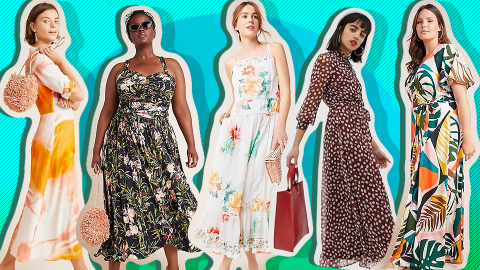 31 Petite Summer Maxi Dresses to Shop, Because We're Tired of Having Everything Hemmed | StyleCaster
