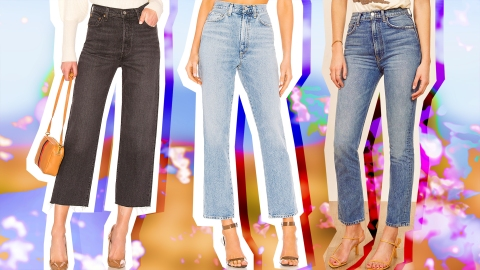 Pinch-Waist Jeans Are One of the Most Flattering Denim Styles on Offer | StyleCaster