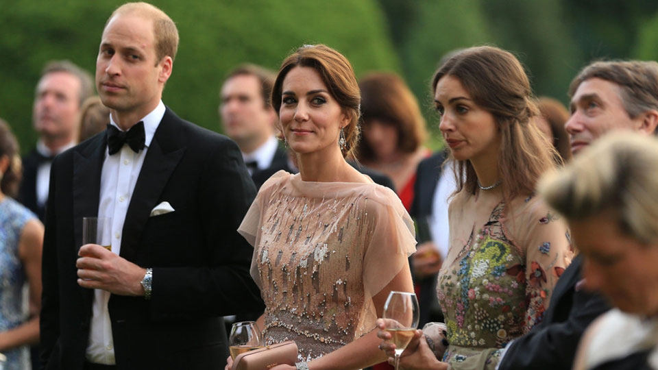 Prince William Kate Middleton Rose Hanbury