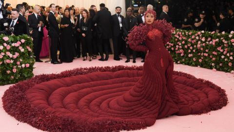 Drop What You're Doing and Look at Cardi B's Stunning Met Gala Gown | StyleCaster