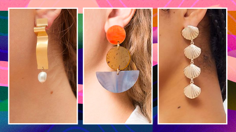 103 Summer Statement Earrings We're Eyeing—Because Yes, There Are That Many Worth Shopping   StyleCaster