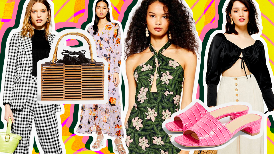 39 Pieces We're Eyeing from Topshop's Summer 2019 Collection