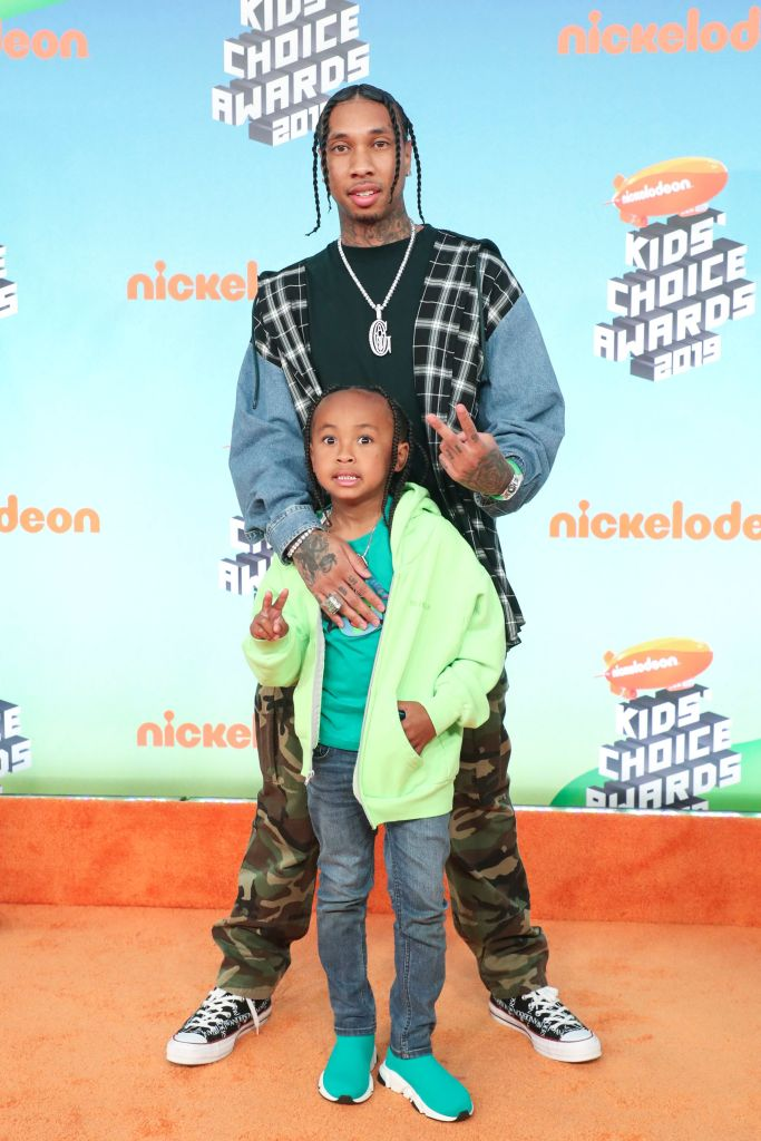 tyga son blac chyna Blac Chyna Learned About Kylie Jenner & Tygas Relationship In the Most Messed Up Way