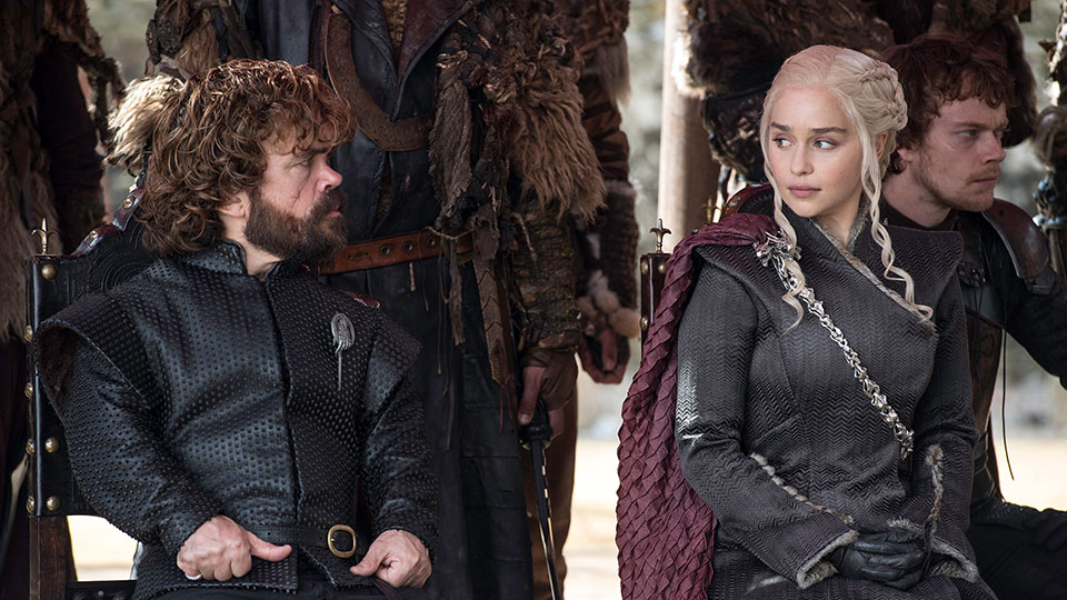 Tyrion and Dany on 'Game of Thrones'