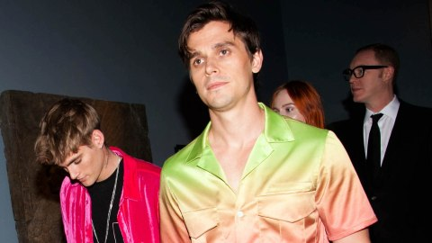 Antoni Porowski's Ombré Rainbow Ensemble Is the Only Outfit I Need This Pride Month | StyleCaster