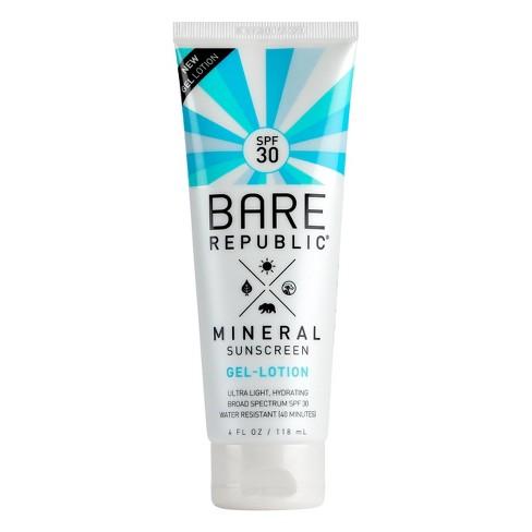 Lozione gel minerale Bare Republic