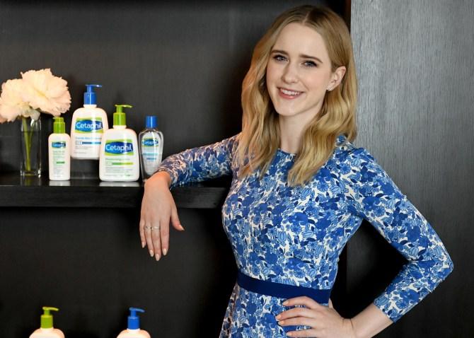 cetaphil rachel Rachel Brosnahan Spills Her Beauty Routine & Responds To That Women Arent Funny Trope