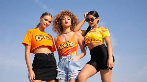 The Forever 21 x Cheetos Collab Is Dangerously Cheesy (and Actually Very Cute!) | StyleCaster
