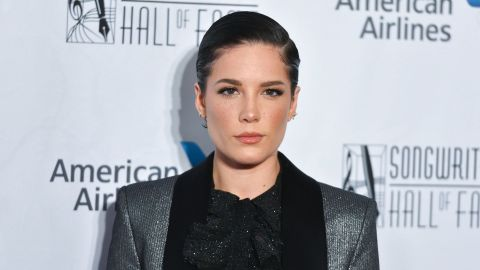 OK, Halsey Wearing a Sparkly Tuxedo Has Suddenly Solved Every Problem I've Ever Had | StyleCaster