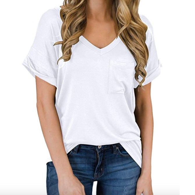 STYLECASTER | how to wear a plain white t shirt
