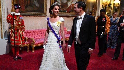 Kate Middleton May Have Subtly Trolled Donald Trump With Her State Dinner Attire & LOL   StyleCaster
