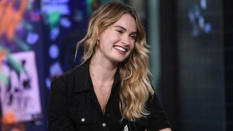 Lily James Chopped Her Hair Into a Blunt Bob and Looks Incredible | StyleCaster