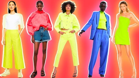 This Summer's Favorite Palette Is All-Neon-Everything   StyleCaster
