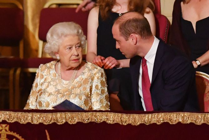 """prince william queen elizabeth Prince William Told Queen Elizabeth He """"Wasn't Sure"""" If He Loved Kate Middleton—During A Breakup"""