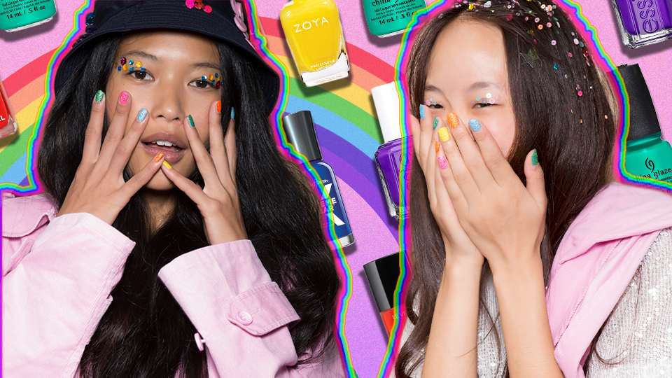 Your Rainbow Manicure Needs These Expert-Approved Polish Colors