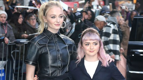 Sophie Turner & Maisie Williams Would Make Out On the 'Game Of Thrones' To Troll Everyone | StyleCaster
