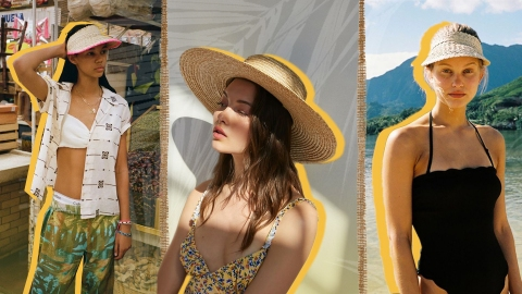 It's Officially Straw Hat Season (!!!) | StyleCaster