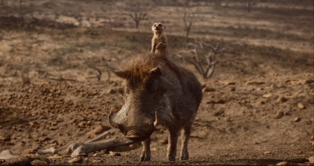 the lion king timon pumba Listen To Beyoncé As Nala In The New Trailer of The Lion King—Were Not Worthy