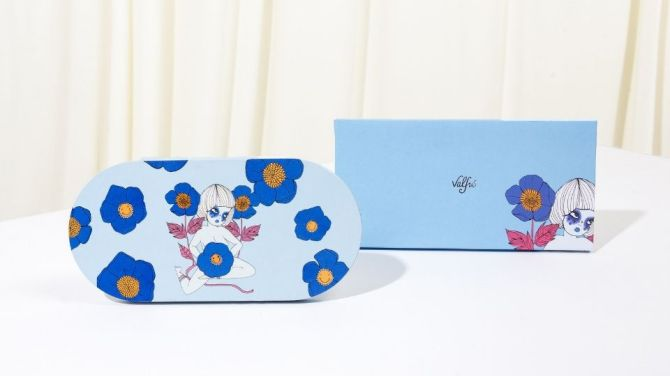 valfre palette outside Valfres First Ever Makeup Product Is a Garden Party for the Eyes
