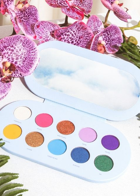 valfre shadows Valfres First Ever Makeup Product Is a Garden Party for the Eyes