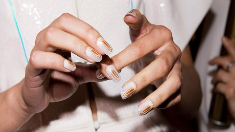 It's Wedding Season and These Nail Art Designs Deserve a Walk Down the Aisle | StyleCaster