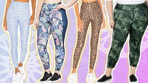 These Stylish Activewear Leggings (Almost) Motivated Me To Work Out Today | StyleCaster