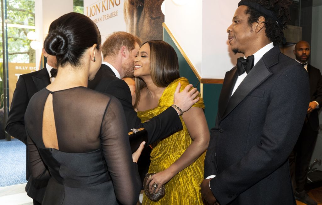 bey markle the lion king Beyoncé Is Getting Heat For Breaking Royal Protocol—Umm OK