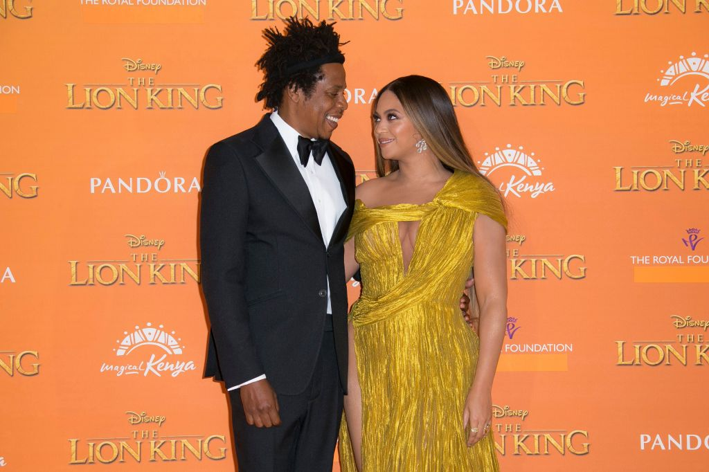 beyonce jay z the lion king Beyoncé Is Getting Heat For Breaking Royal Protocol—Umm OK